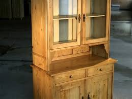 barn wood 2 door glass hutch farmhouse china cabinets and hutches boston by ecustomfinishes