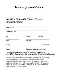 Sample Service Agreements Beauteous Example Service Agreement Caption Free Template Contract Sample Bond