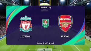 PES 2021 | LIVERPOOL vs ARSENAL | Carabao Cup