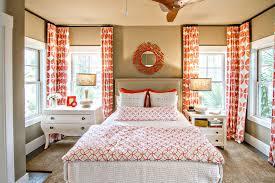 Modern Curtains For Bedroom Orange Curtains Bedroom