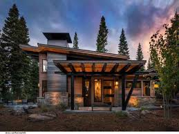 modern mountain home plans small house luxury minecraft pe one