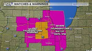 Storms blow through Chicago area – more ...