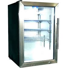 true single glass door cooler front refrigerator for home commercial freezer