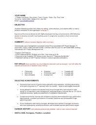 Resume Objective For Career Change 1412 Drosophila Speciation