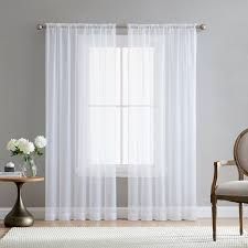 romantic bedroom window treatments. Brilliant Window Europe Solid White Yarn Tulle Curtains For Living Room Bedroom Window  Treatment Romantic Wedding Ceiling Drapesin From Home U0026 Garden On  With Treatments