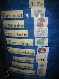 Pocket Chart Poems For Kindergarten Easy To Make Pocket Chart Poetry Station Modify For
