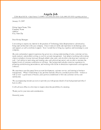 Ideas Collection Technology Executive Cover Letter About Sample Of