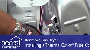 how to replace a kenmore gas dryer thermal cut off fuse kit how to replace a kenmore gas dryer thermal cut off fuse kit