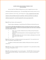 Good Research Paper Example Titles For Papers Examples Thesis