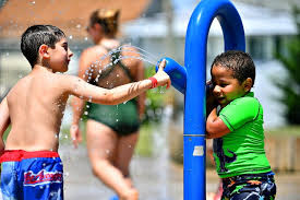 PHOTOS: Keeping cool on the Red Lion Splash Pad