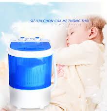 Máy giặt mini Xiaoe lồng giặt trong suốt máy giặt mini giặt đồ trẻ em Điện  máy bé XANH - Máy giặt