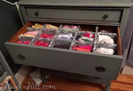 How to Make Durable Drawer Dividers for Pennies: Hawk-Hill.com - Lingere