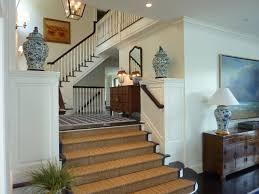 sisal rug staircase traditional with asian dark wood floor hall jute rug lantern multi level