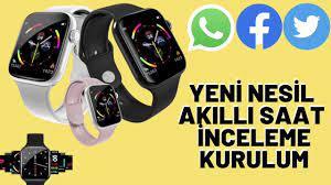 Apple Watch'a Çok Benzeyen ~ Yeni Nesil Akıllı Saat Kurulumu ~  Enteknolojicom