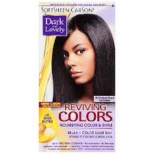 Softsheen Carson Dark And Lovely Relax Color Same Day Semi Permanent Haircolor 391 Radiant Black