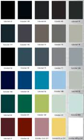 Efco Anodized Color Chart Efco Anodized Color Chart Aluminum Window Aluminum