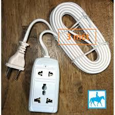 Ổ cắm điện du lịch đa năng 2 lỗ 2 mét 2200W 10A 250V VINAKIP giá cạnh tranh