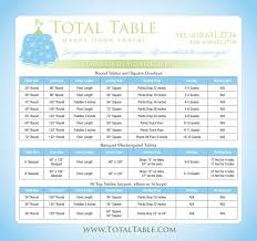 wedding table size chart. how to make your own wedding linens | linens, and table size chart