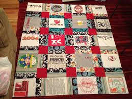 Alternatives to Running: Quilting | OregonLive.com & I count sewing a quilt of running shirts (and other random shirts) as a  running-related activity. So basically it was like exercise. It turns out I  don't ... Adamdwight.com