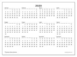 Calendario 2020 32ds Michel Zbinden It