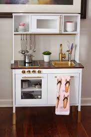 Full Size of Kitchen:awesome Wooden Play Kitchen Ikea Plywood On The Back  Splash Covered ...