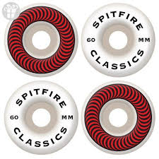 spitfire x supreme wheels. spitfire classic series 60mm high performance skateboard wheel (set of 4) (*amazon x supreme wheels 5