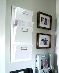 mail organizer wall wooden