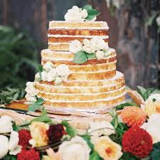 The Best Flavors To Consider For Your Naked Wedding Cake Martha