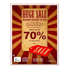 Free For Sale Flyer Template Sales Flyer Templates Sales Flyers Templates 7 Free Sale