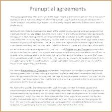prenup samples agreement after marriage new template binding financial during of