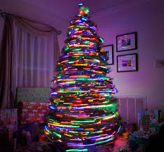 Rotating Christmas tree.