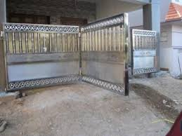 stainless steel gates stainless steel folding gates accordion security gates wooden french doors