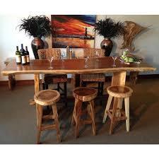 chic teak furniture. Modren Teak Suar Live Edge Bar Table 98 Inch  Chic Teak And Furniture K