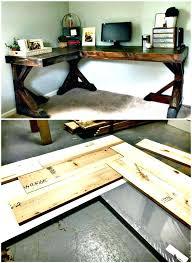 corner desk tutorial plans top ideas you can diy free corner desk designs