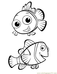 Finding Nemo Coloring 02 Coloring Page Free Finding Nemo Coloring