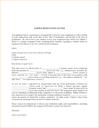 good letter of resignation resignation formats resignation letter good resignation letters