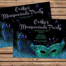Masqurade Invitation Masquerade Invitation Mardi Gras From Partyprintexpress On
