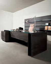 office glass desks. Furniture \u0026 Accessories Large-size Natural Simple Design Of The Glass Office Desks Can Be
