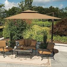 latest sams club patio umbrella 11 ft beige cantilever umbrella sam s club regarding sams club