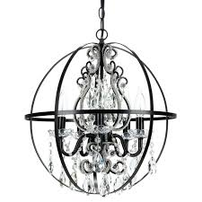 remarkable orb chandelier canada black also metal candle gorgeous fascinating als