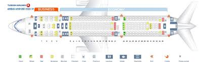 Hawaiian Airlines Seating Chart A330 Turkish Airlines Fleet Airbus A330 200 Details And Pictures