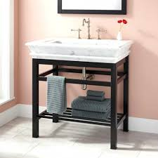 bathroom sink bathroom sink metal legs table drain console with inside bathroom console sink metal