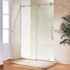 elan 68 in x 74 in frameless sliding shower door