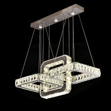 modern crystal chandelier lighting decoration crystal pendant lights