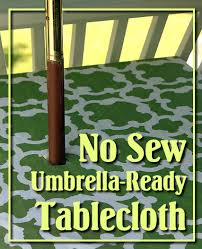 excellent innovative round patio table cover with umbrella hole no sew patio tablecloth with umbrella hole pretty with round umbrella tablecloth with zipper