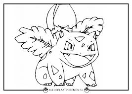 Ivysaur Kleurplaten Gratis Printen Kleurplaat Pokémon
