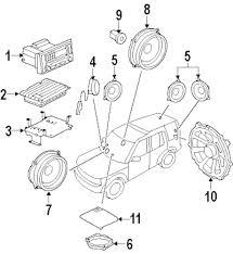 Genuine land rover license bracket nut ran lr044895