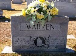 Effie Lou Warren (1907-1974) - Find A Grave Memorial