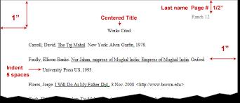 bibliography in mla gds genie bibliography in mla