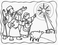 Small Picture Catholic Faith Education Advent Coloring Pages